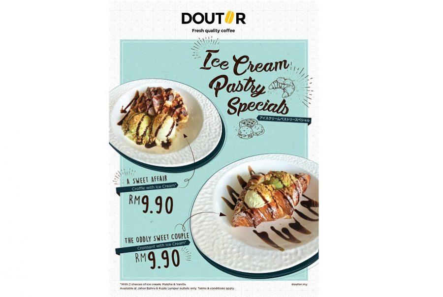 Ice Cream Pastry Specials
