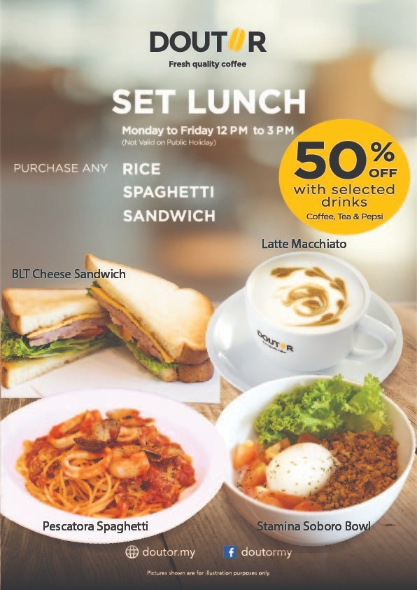 Our Set Lunch is Back!